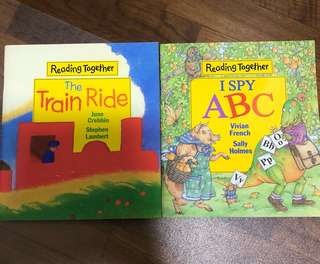 Reading together-I Spy ABC/ The train ride
