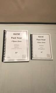IGCSE Past Year Papers: Physics Paper 3(0625)