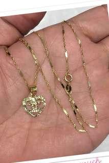 18K Saudi Gold Neckalce