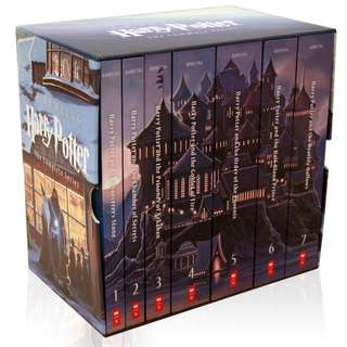 🚚 Harry Potter Complete Book Series Special Edition Boxed Set [PO]