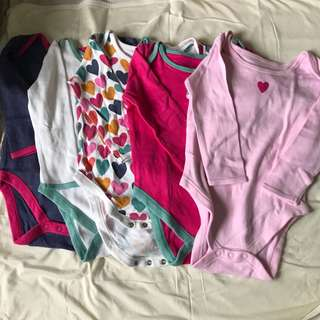 Mothercare long sleeves onesies- take all