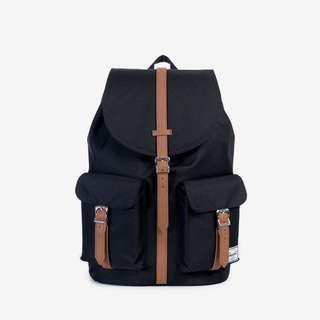 Instock  Herschel Dawson Backpack 20.5L – Black Tan 82fa369e522cc