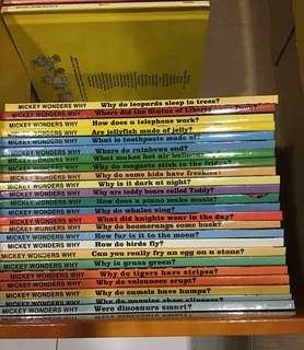 Grolier Mickey wonders why 24 books
