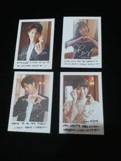 100%全新 韓劇《她愛上了我的謊》(그녀는거짓말을너무사랑해)小卡4張