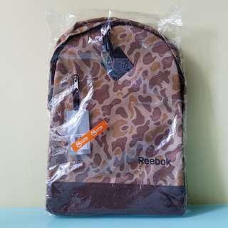 #sellfaster Reebok Brown Camo Backpack