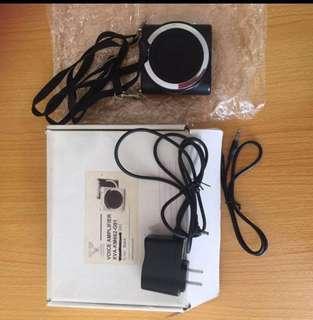 Black colour Voice Amplifier