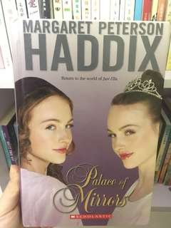 Hard cover English novel (Palace of mirrors)