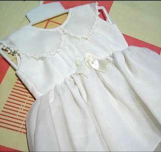 Repriced Vintage Off White (Christening) Dress