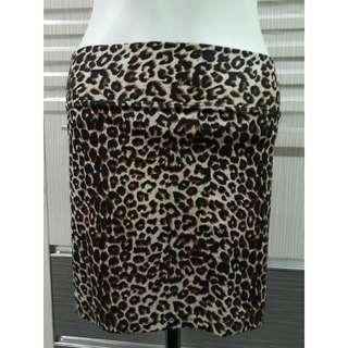 Rok sepan leopard / s-m