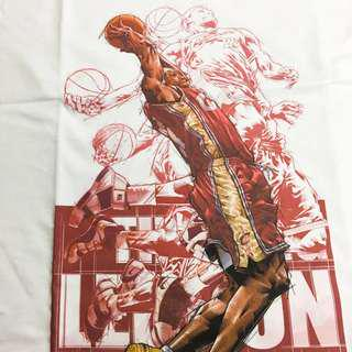 經典NBA球星 T Shirt Lebron James 詹皇 短袖 tee 男裝 中性
