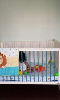 Cuddlebug crib/co sleeper
