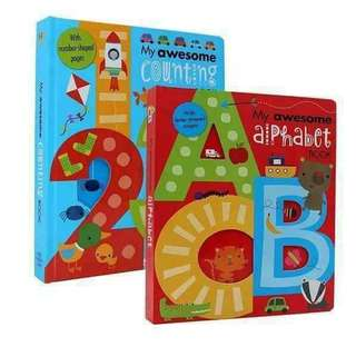 My Awesome Alphabet and Counting book
