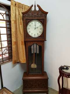 Mauthe grandfather Antique Clock
