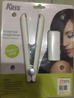Travel hair straightner
