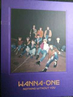 🚚 Wanna one nothing without wanna版