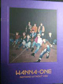 🚚 Wanna one nothing without wanna版空專