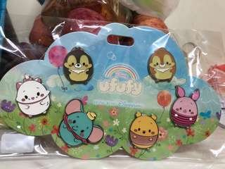HKDL disney pin香港迪士尼徽章襟章 ufufy花蛋pin系列 一套六個