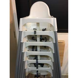 IKEA baby high chair with detachable feeding table