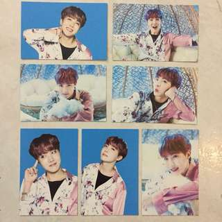 BTS Jhope Wings Tour Random Card