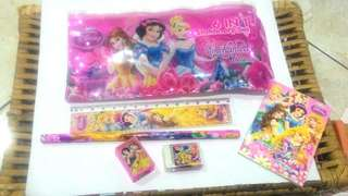 Set alat tulis princess 6 in 1