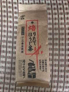 日本直送 靜岡焙煎 焙茶 - 銘葉 焙りたてほうじ茶 150g