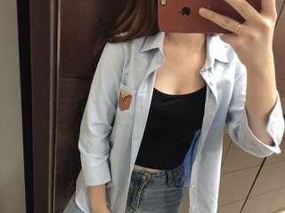 🚚 LAKING 男生女生都可以穿的美美襯衫(全新)