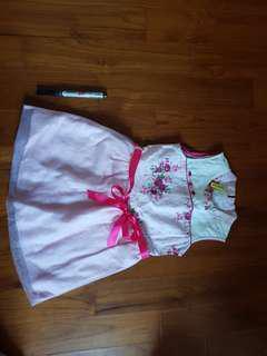 cheongsam style toddler dress