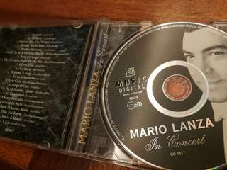 Mario Lanza In Concert CD