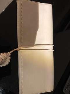 Banana Republic white clutch