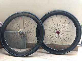 Piston Racing 50cc Carbon Wheelset for Sale (Ceramic Bearing)