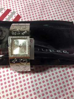 Guess Stainless Wrist Watch