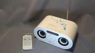 🚚 人因(9成9新) Ergotech Deejay SP1102W MP3多媒體喇叭