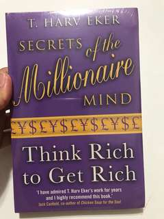 BRAND NEW Secrets of the Millionaire Mind: Think Rich to Get Rich by T. Harv Eker