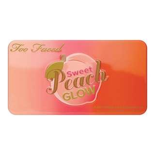【代購】TOO FACED 胭脂Sweet Peach Glow Kit