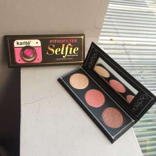 Selfie Karite - Highlighter Contour and Blush On