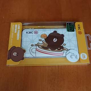 Line Friends Brown 熊大 充電器 尿袋  Power Bank