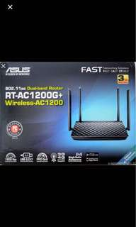 Asus 4G-AC55U dual band wireless AC1200 4G LTE modem router