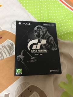 (PS4)GT Sport鐵盒版(無code)
