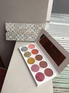 REJECT PENGIRIMAN Glamierre Glitz Glam Eyeshadow Palette 10 Colors