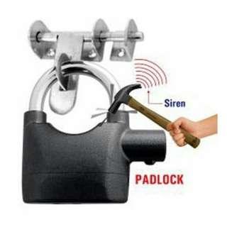 Siren Alarm Padlock Kunci Mangga