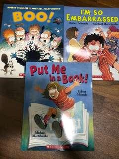 Children's books by Robert Munsch/ Michael Martchenko