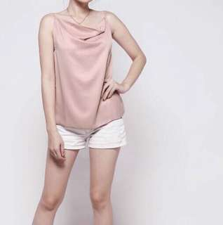 Camisole Tanktop Top pink satin