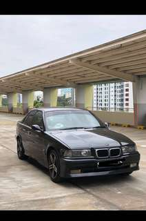old BMW car for rental