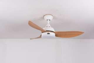 """Bestar 48"""" ceiling fan + 4 tone led + remote control"""