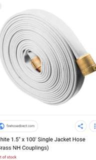 Looking for used fire hose