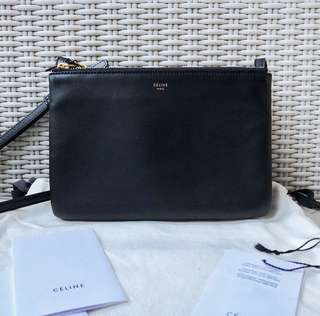 Celine Trio Small Black