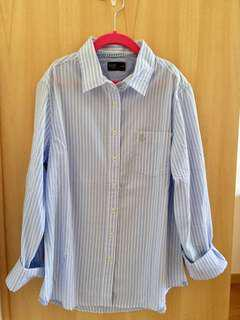 Pastel Blue stripes shirt