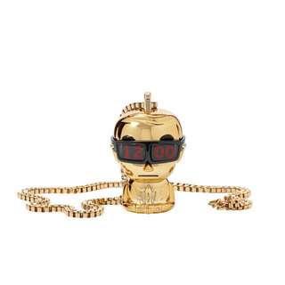 Karl Lagerfeld 人偶錶項鍊