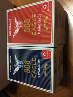 808 Eagle playing cards