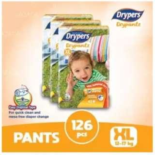 Drypers Drypantz XL42 (3 pack)